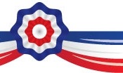 ผ้าระบายลายธงชาติไทย