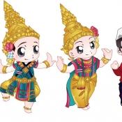 การ์ตูนชุดประจำชาติอาเซียน