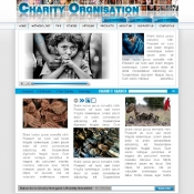 Charity template PSD