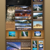 Travel Template PSD