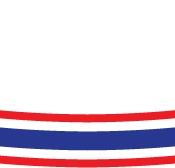 ริบบิ้นลายธงชาติ