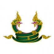 พญานาคลายไทย
