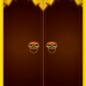 ประตูเรือนไทย
