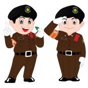 การ์ตูนตำรวจทางหลวง