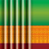 พื้นหลังลายผ้าไทย003