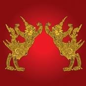 ครุฑลายไทย