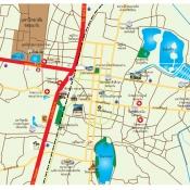 แผนที่ตัวเมืองขอนแก่น